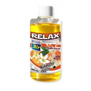 Náhradní náplň do osvěžovače RELAX - Delicious - 100ml