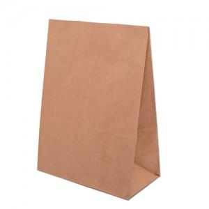 Přírodní taška papírová bez uší 305x170x430mm