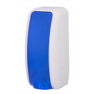 Dávkovač na pěnové mýdlo LAVELI - modro/bílý