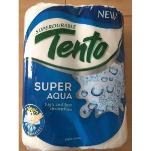 Papírové kuchyňské utěrky TENTO SUPER Aqua