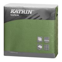 Papírové ubrousky KATRIN Snack - Zelená